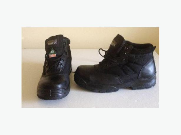 "Original Safety 6"" Classic Safety Boots CSA ST/SP - Mens size 7 1/2 (8) US"