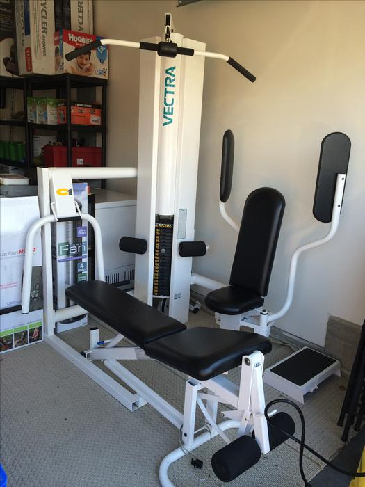 Home gym with stations saanich victoria mobile