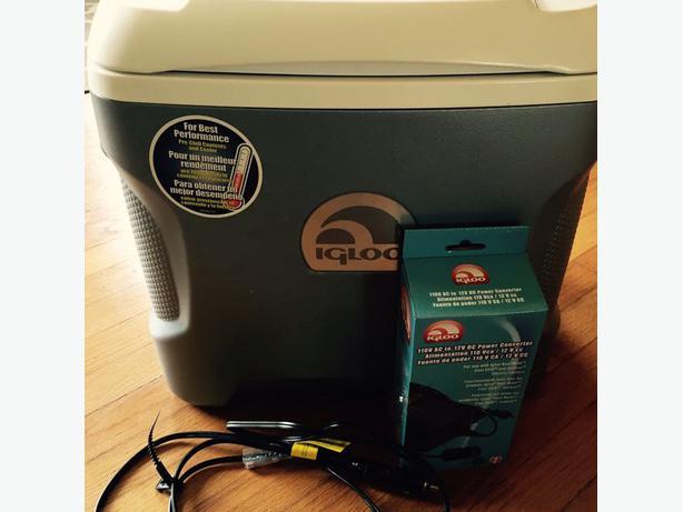 Plug In Cooler : Igloo plug in cooler parksville qualicum beach