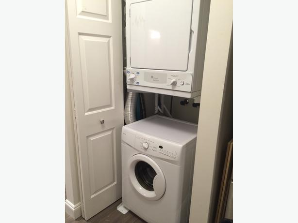 24 wide apartment size stacker washer dryer saanich victoria