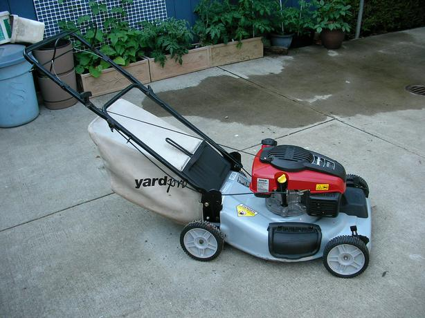 Yard Pro Self Propelled Lawnmower Victoria City Victoria