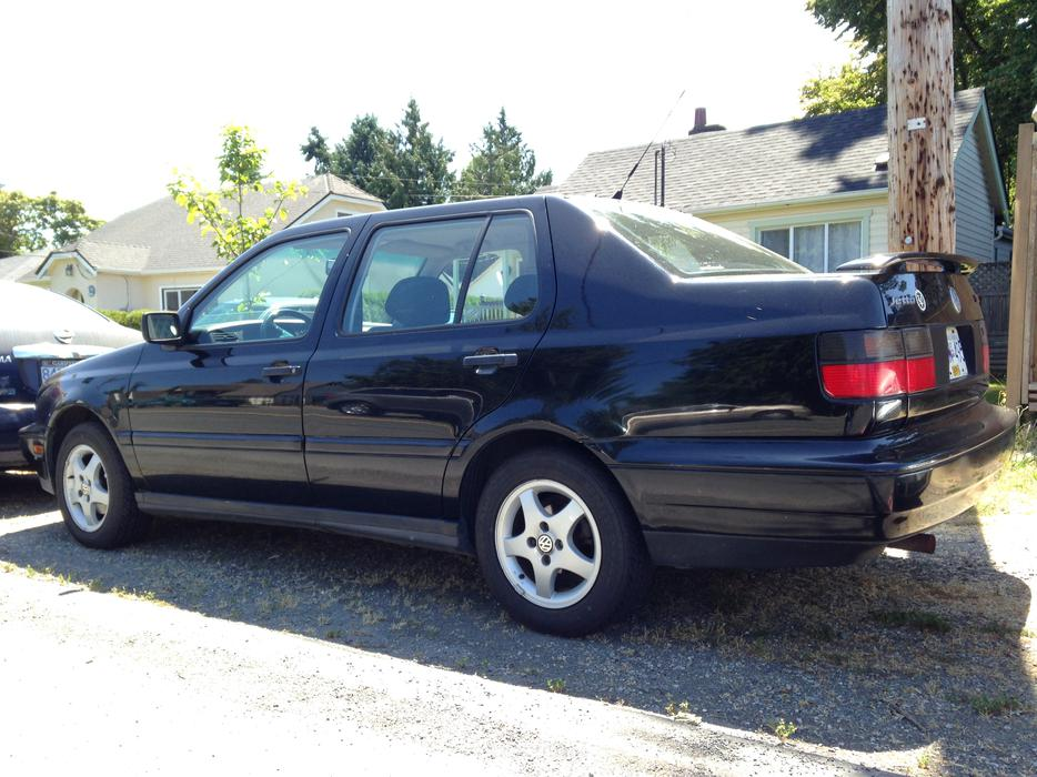 1997 Black Vw Jetta Trek Very Well Maintained Saanich