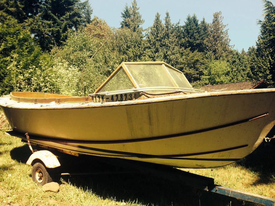 Wooden Sand Bar Boat and Trailer-22 Feet Saanich, Victoria - MOBILE