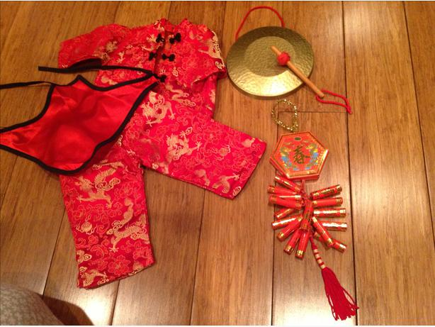American Girl Chinese New Year Outfit & Celebration