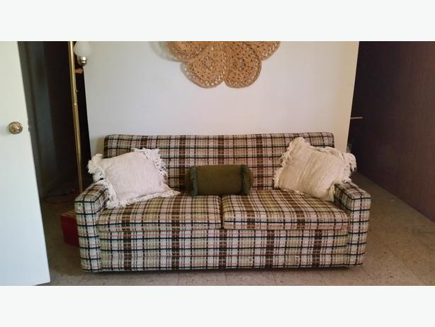 retro hide a bed sofa south regina regina mobile. Black Bedroom Furniture Sets. Home Design Ideas