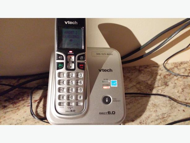 Vtech Phones With Answering Machine Central Regina Regina Mobile