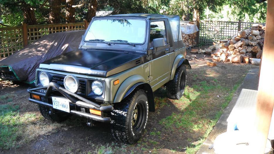 91 Suzuki Samurai Parksville Nanaimo Mobile