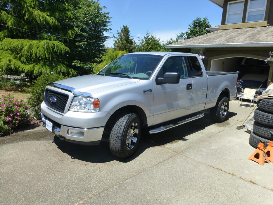 2004 ford f150 xlt supercab 4x4 outside nanaimo nanaimo. Black Bedroom Furniture Sets. Home Design Ideas