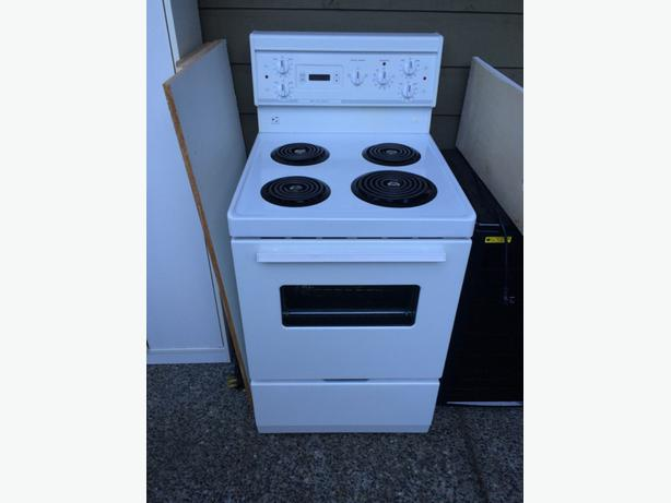 apartment sized stove campbell river comox valley