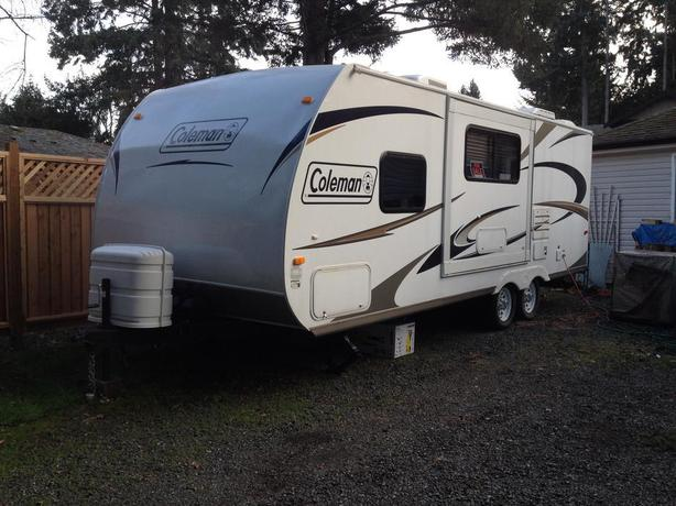 2012 Coleman Travel Trailer Special Edition Outside