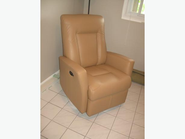 Elran leather recliner chair & Elran leather recliner chair Gloucester Ottawa islam-shia.org