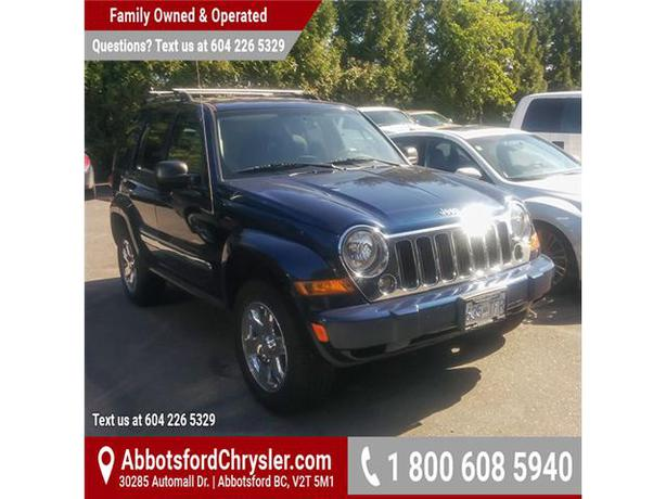 2007 jeep liberty limited edition f703290b w tow package outside metro vancouver vancouver. Black Bedroom Furniture Sets. Home Design Ideas