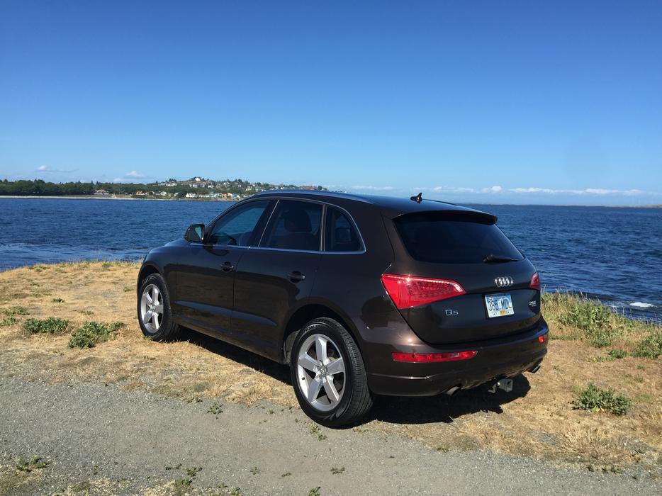 2011 Audi Q5 2 0t Premium Quattro Teak Brown Saanich