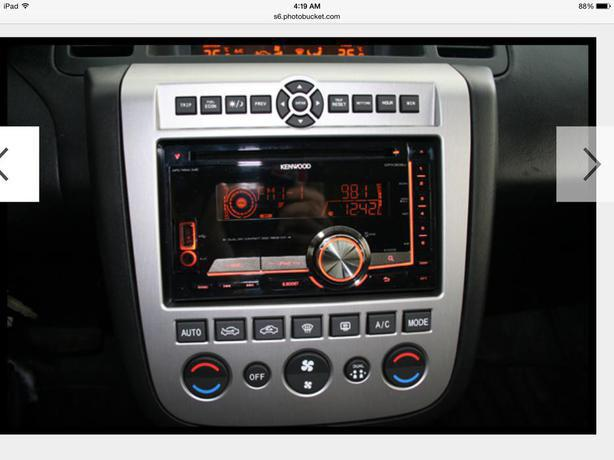 Metra Double Din Dash Kit For Nissan Murano North Saanich