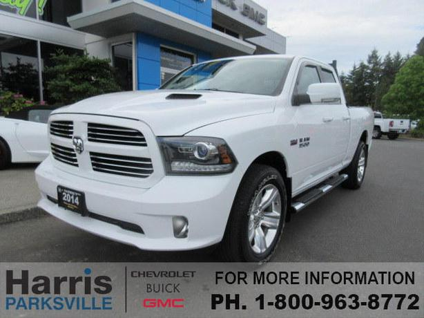 2014 dodge ram sport 1500 outside nanaimo parksville. Black Bedroom Furniture Sets. Home Design Ideas