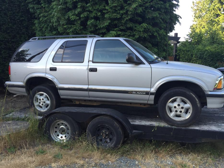 95 Chevrolet Blazer For Parts Malahat Including Shawnigan