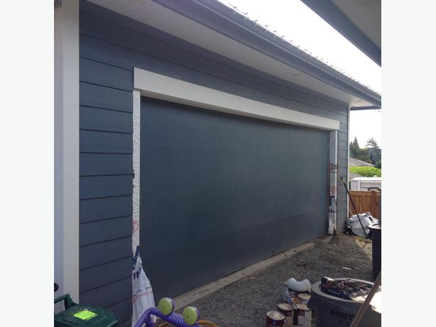 18 foot insulated garage door central nanaimo nanaimo