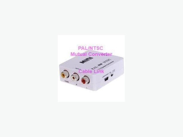 PAL/NTSC/SECAM to PAL/NTSC Bi-directional Converter