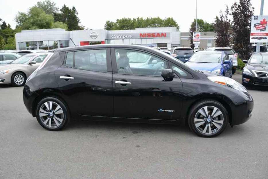 2013 Nissan Leaf Sl Tech W Qucik Char Victoria City Victoria