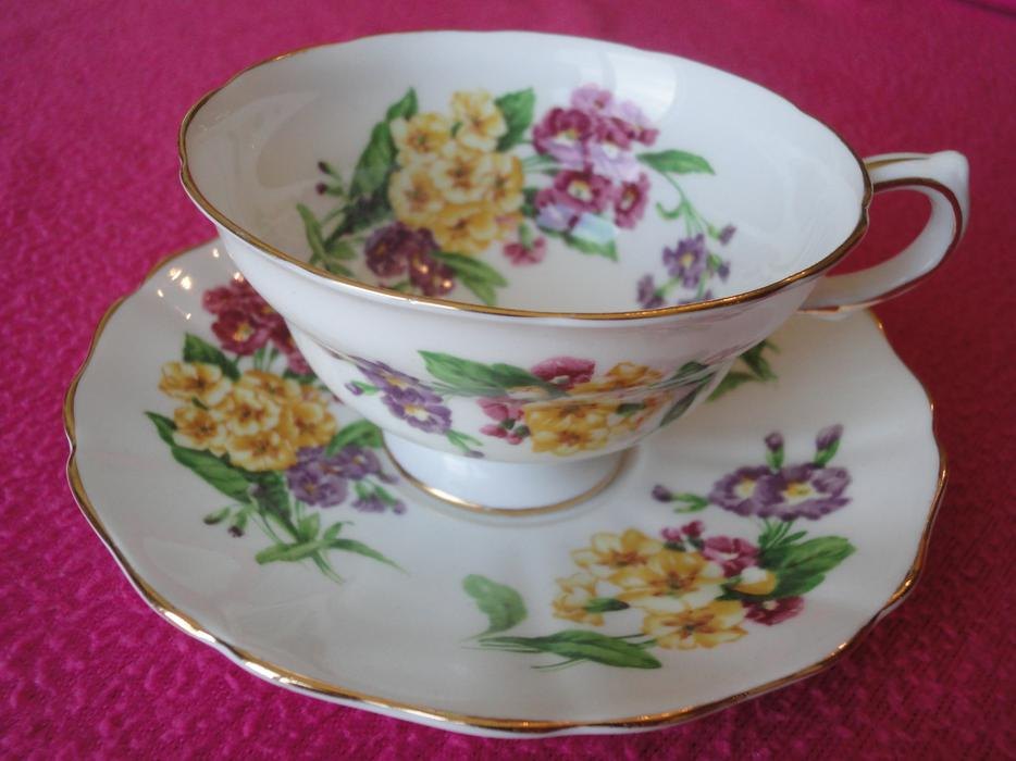 Seventh Lot Of Vintage England Bone China Tea Cup Amp Saucer