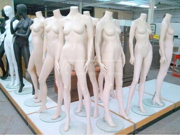 MANNEQUINS $75 ~ SUPER LIQUIDATION ~ COMPLET ~  FULL BODY ~