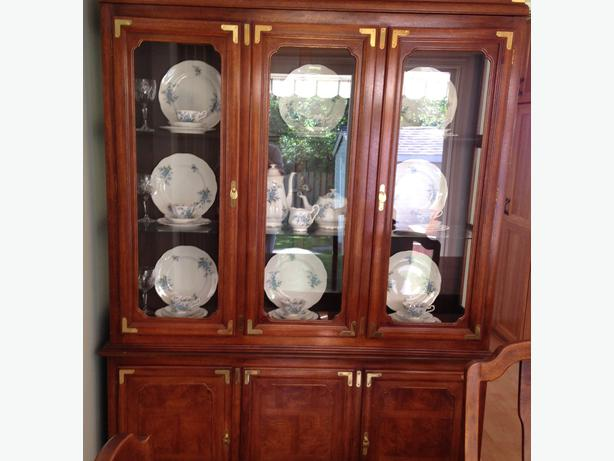 log in needed 800 dining room table and china cabinet