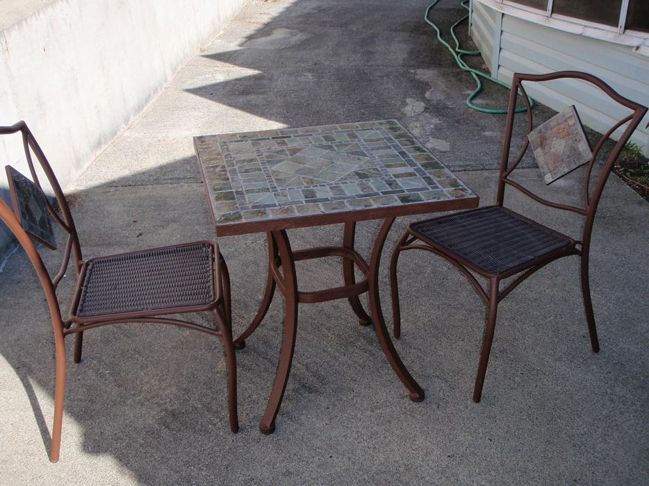 Bistro Table And Chair Set South Nanaimo Nanaimo MOBILE