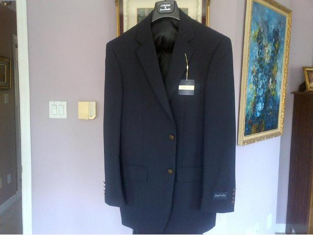 New Men's Navy Blue Blazer