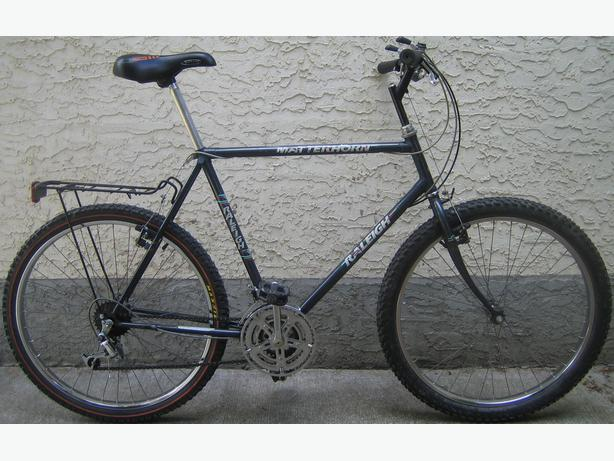 Raleigh - Matterhorn-tall frame with 26 inch tires