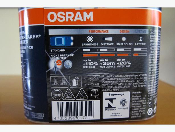 osram night breaker unlimited h4 bulbs sealed in. Black Bedroom Furniture Sets. Home Design Ideas
