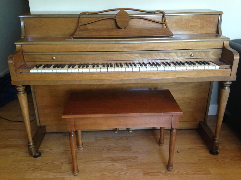 Piano With Bench Saanich Victoria