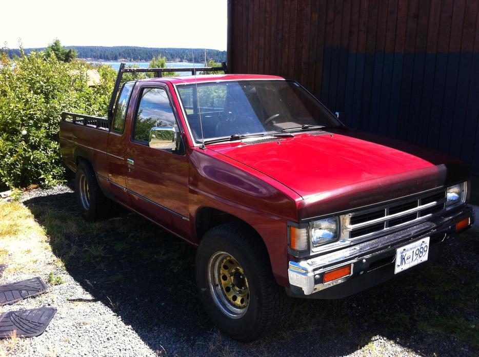 1992 Nissan King Cab 1 4 Ton Pickup Victoria City Victoria