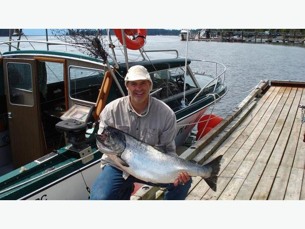 Winter salmon fishing charters sooke victoria for Salmon fishing charters