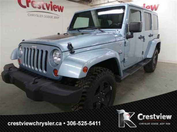 2012 jeep wrangler unlimited arctic edition w navigation central regina regina. Black Bedroom Furniture Sets. Home Design Ideas