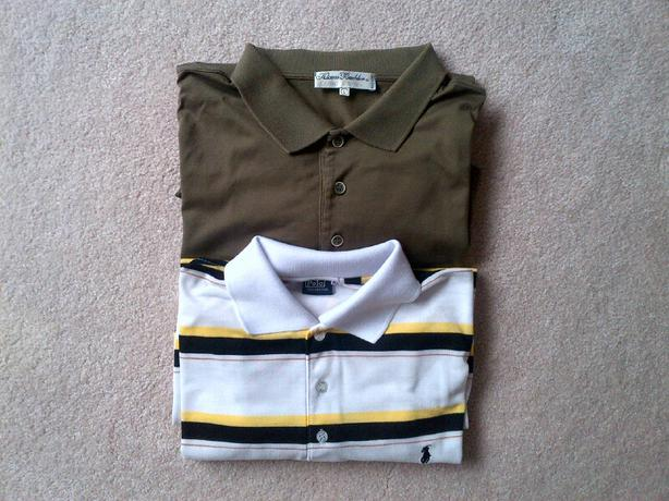 Two Hi-end Men's Polo Shirts