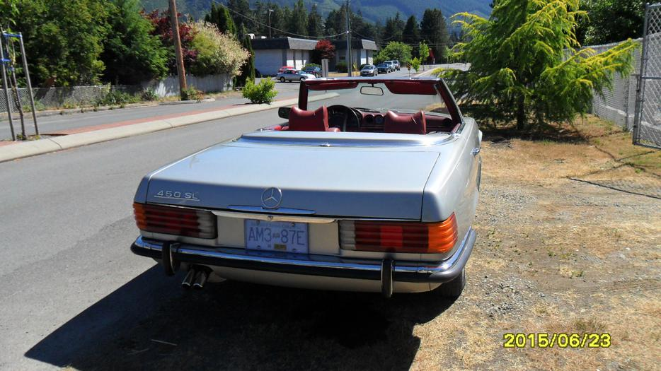 1972 mercedes benz outside nanaimo parksville qualicum beach for Mercedes benz bay ridge
