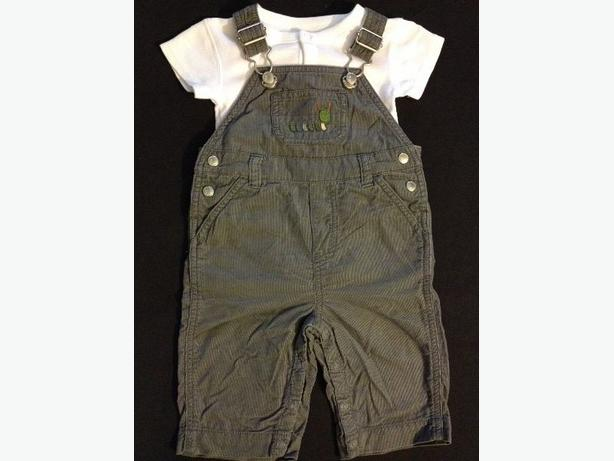 Gymboree Overalls 3-6 months