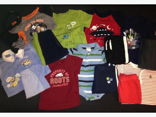 Baby boy 3-6 month lot