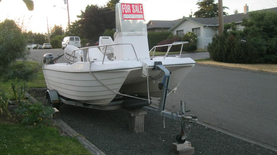 16 39 Livingston Warrior Fishing Boat For Sale Campbell