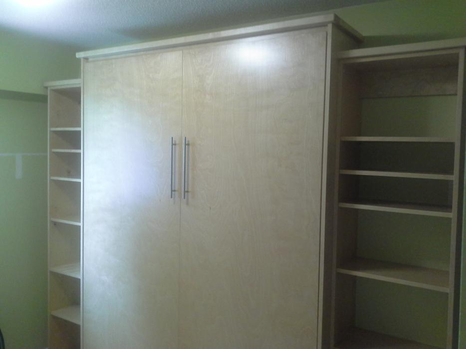 Murphy Beds Langford : Sale new double maple murphy bed west shore langford