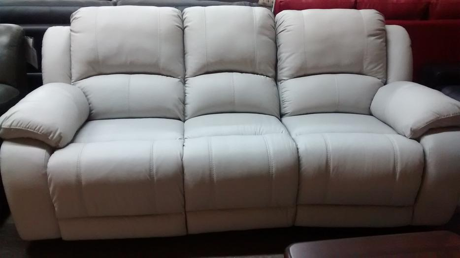 Display Full Grain Leather Sofa Set Clearance North