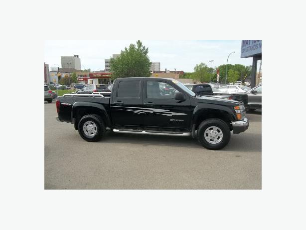 guaranteed financing approval 2004 gmc canyon crew cab z71 gfx sport package central regina regina. Black Bedroom Furniture Sets. Home Design Ideas
