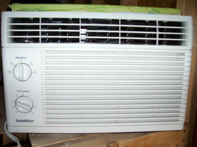 Goldstar 5 000 btu air conditioner like new 39 39 sold for 18 inch wide window air conditioner