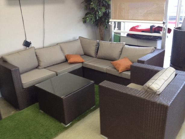 emsemble de sofa exterieur exterior sofa set outside ForCoussin Sofa Exterieur