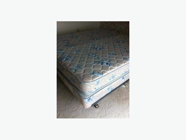 King Size Mattress Box Spring And Frame Saanich Victoria
