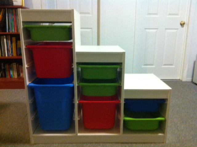 Ikea toys storage unit gatineau sector quebec ottawa for Mobile trofast