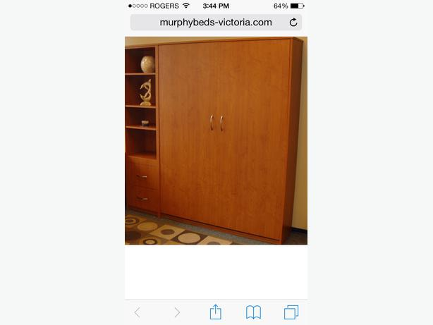 Murphy Beds Langford : Murphy single bed west shore langford colwood metchosin