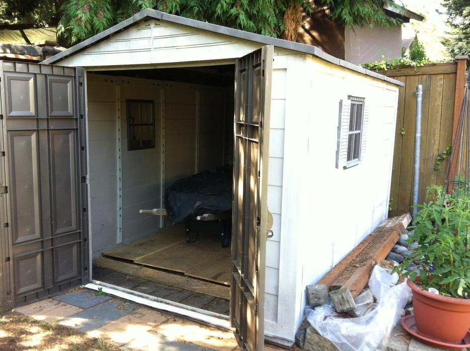 Garden shed saanich victoria for Garden shed victoria