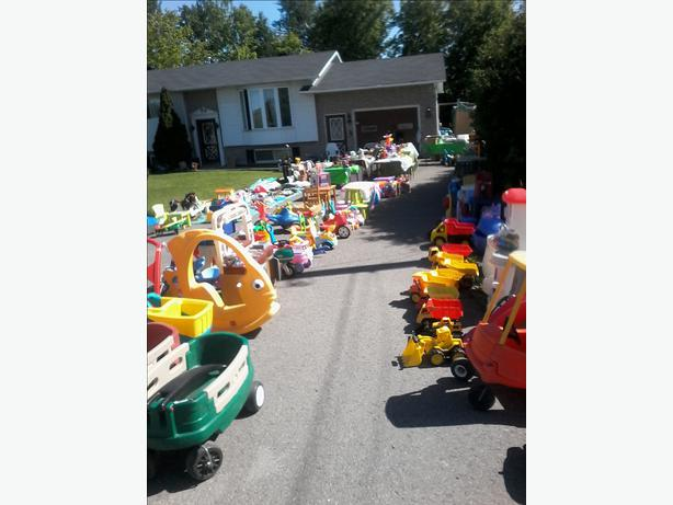 Used Yard Toys : Toys huge toy yard sale sat june th orleans ottawa