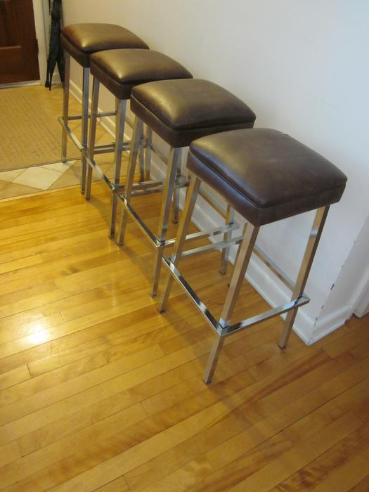 Vintage Chrome Bar Stools Central Ottawa Inside Greenbelt